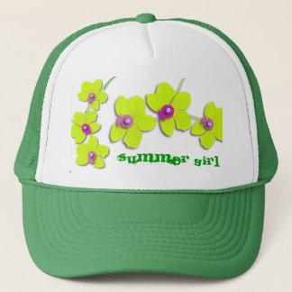 summer girl trucker hat