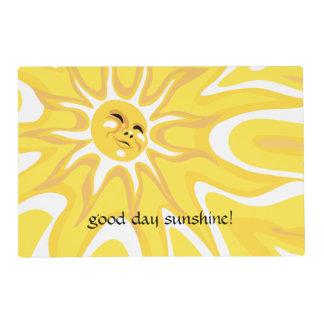 Summer Good Day Sunshine Sun Sunny Placemat