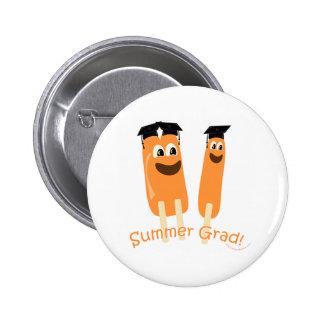 Summer Graduate Pride! Pinback Button