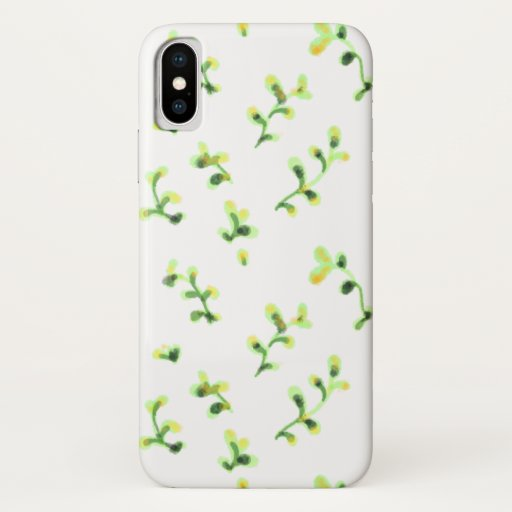 Summer green garden leaves iPhone XS case