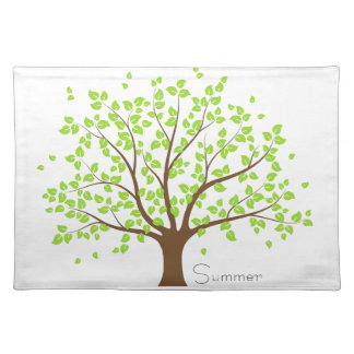 Summer Green Tree Placemat