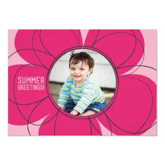 Summer Greetings Bloom Flat Card
