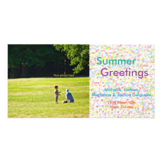 Summer Greetings, summer, the postcard and hot