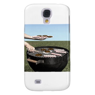 Summer Grilling Samsung Galaxy S4 Covers