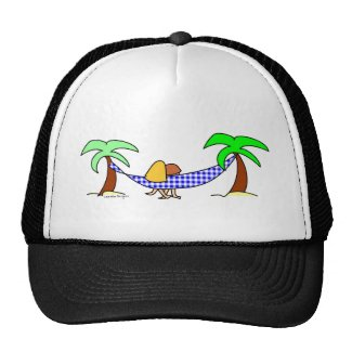 Summer Hammock Trucker Hat