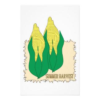 Summer Harvest Customized Stationery