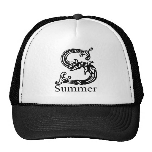Summer Mesh Hats