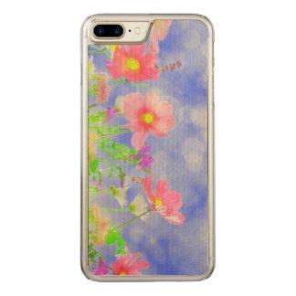 Summer Haze Wild Flowers Sunshine Landscape Carved iPhone 7 Plus Case