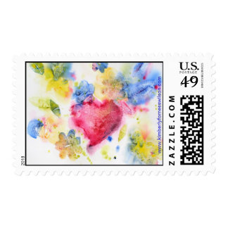 Summer Heart by Kimberly Forness Wilson Postage