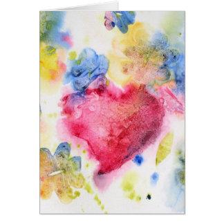 Summer Heart Card