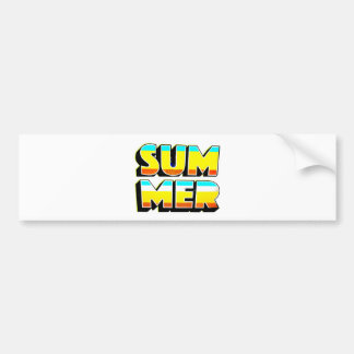 Summer Heat Bumper Sticker