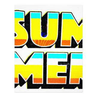 Summer Heat Letterhead