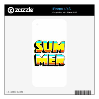 Summer Heat Skins For The iPhone 4S