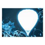 summer hi-fi ballooning custom invitations