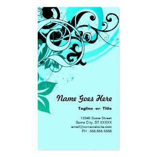 summer hi-fi business card template
