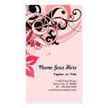 summer hi-fi : soft pink business card