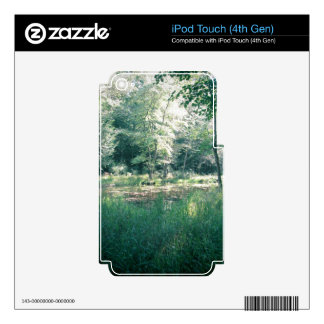 Summer hike decals for iPod touch 4G