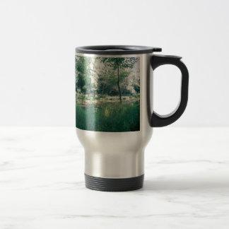 Summer hike travel mug