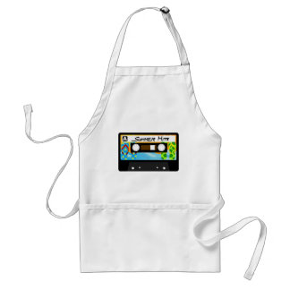 Summer Hits Tape Adult Apron