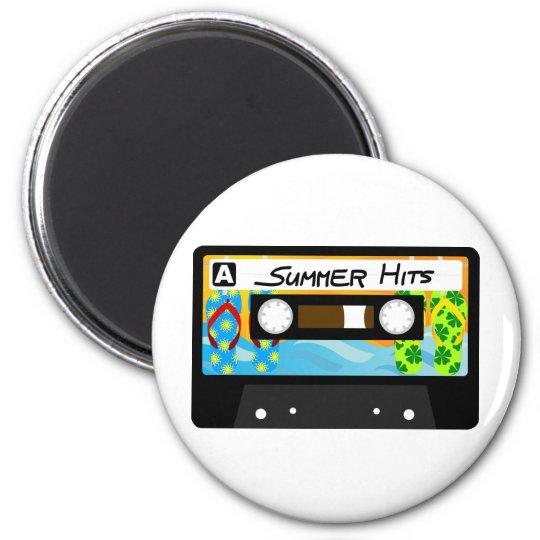 Summer Hits Tape Magnet
