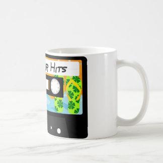 Summer Hits Tape Classic White Coffee Mug