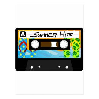 Summer Hits Tape Postcard