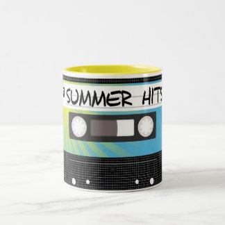 Summer Hits Two-Tone Coffee Mug