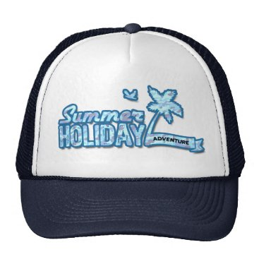 all_summer_products Summer Holiday Adventure Trucker Hat