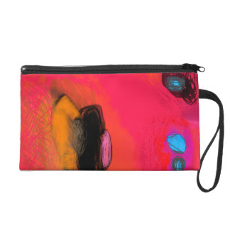 Summer holiday wristlet clutches