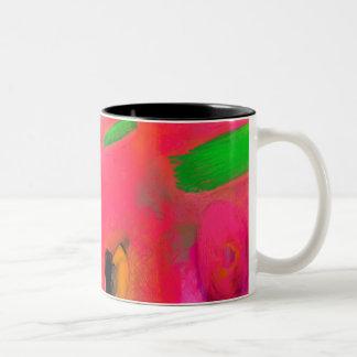 Summer holiday Two-Tone coffee mug