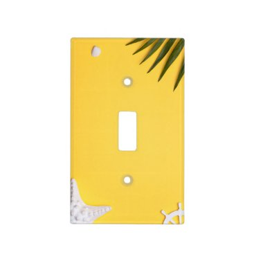 Beach Themed Summer Holiday Vacation Background Light Switch Cover