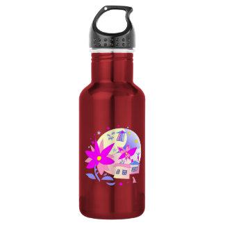 Summer Holidays 18oz Water Bottle