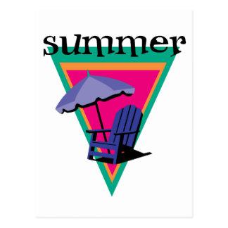 Summer Holidays Post Cards