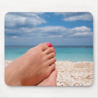 Summer holidays relaxation mousepad