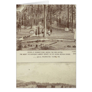 Summer Home, Lewis residence Greeting Card