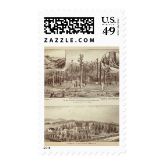 Summer Home, Lewis residence Postage