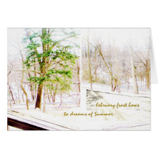 Summer Hope Greeting Card