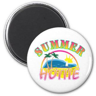 Summer Hottie Refrigerator Magnet