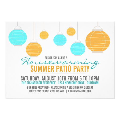 Invitation House Warming with nice invitations example