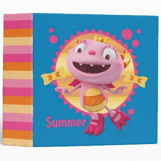 Summer Hugglemonster 1 Binder
