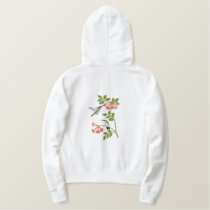 Summer Hummingbirds Embroidered Hoodie