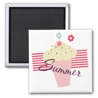 Summer Ice Cream Cone Magnet