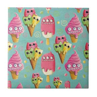 Summer Ice Cream Mix Ceramic Tiles