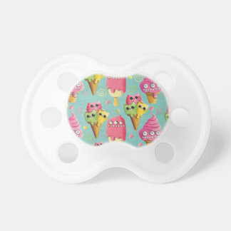 Summer Ice Cream Mix Pacifiers