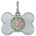 Summer Ice Cream Mix Pet Tags
