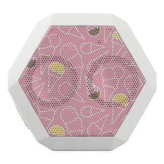Summer Ice Cream Pattern White Boombot Rex Bluetooth Speaker