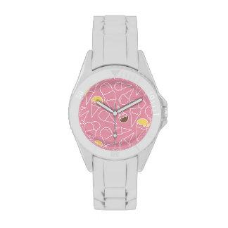 Summer Ice Cream Pattern Wrist Watch
