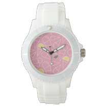 Summer Ice Cream Pattern Wrist Watch