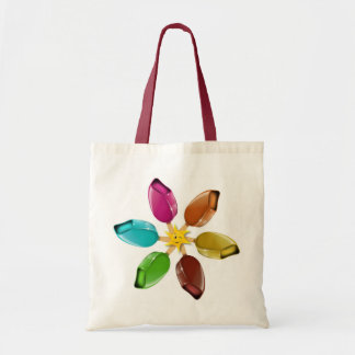 Summer ice cream with a smiling sun tote bag
