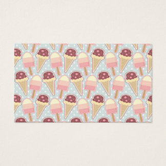 Summer Ice Creams Business Card